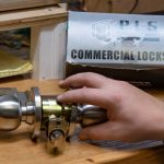 commercial lock change