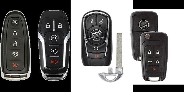 Buick key